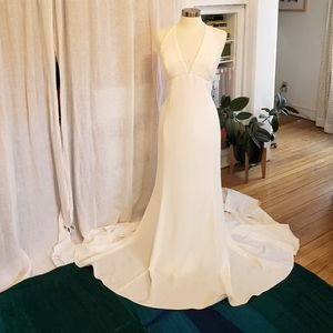 BHLDN Lucine wedding gown by Nouvelle Amsale